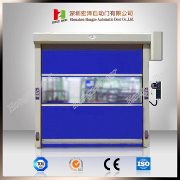 Industrial PVC Fabric Quick Rolling Shutter Door