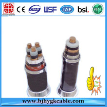 20KV 3*50sqmm Aluminum Conductor XLPE Power Cable