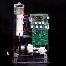 Instant heating test module for water dispenser