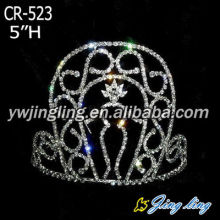 Silver Color Pageant Crown Body Shape Boy Crown