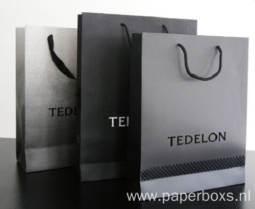High Quality Luxury CMYK Printing Shopping Paper Bag