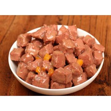 Nutritious low fat dogs Chicken gravy wet food