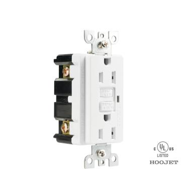 Tamper-Resistant Receptacle Outlet With LED Indicator
