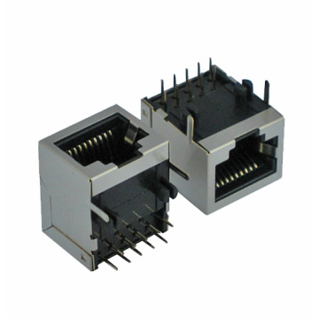 RJ45 ModularJack with shield without EMI