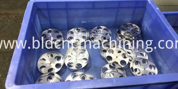 machining thin aluminum parts