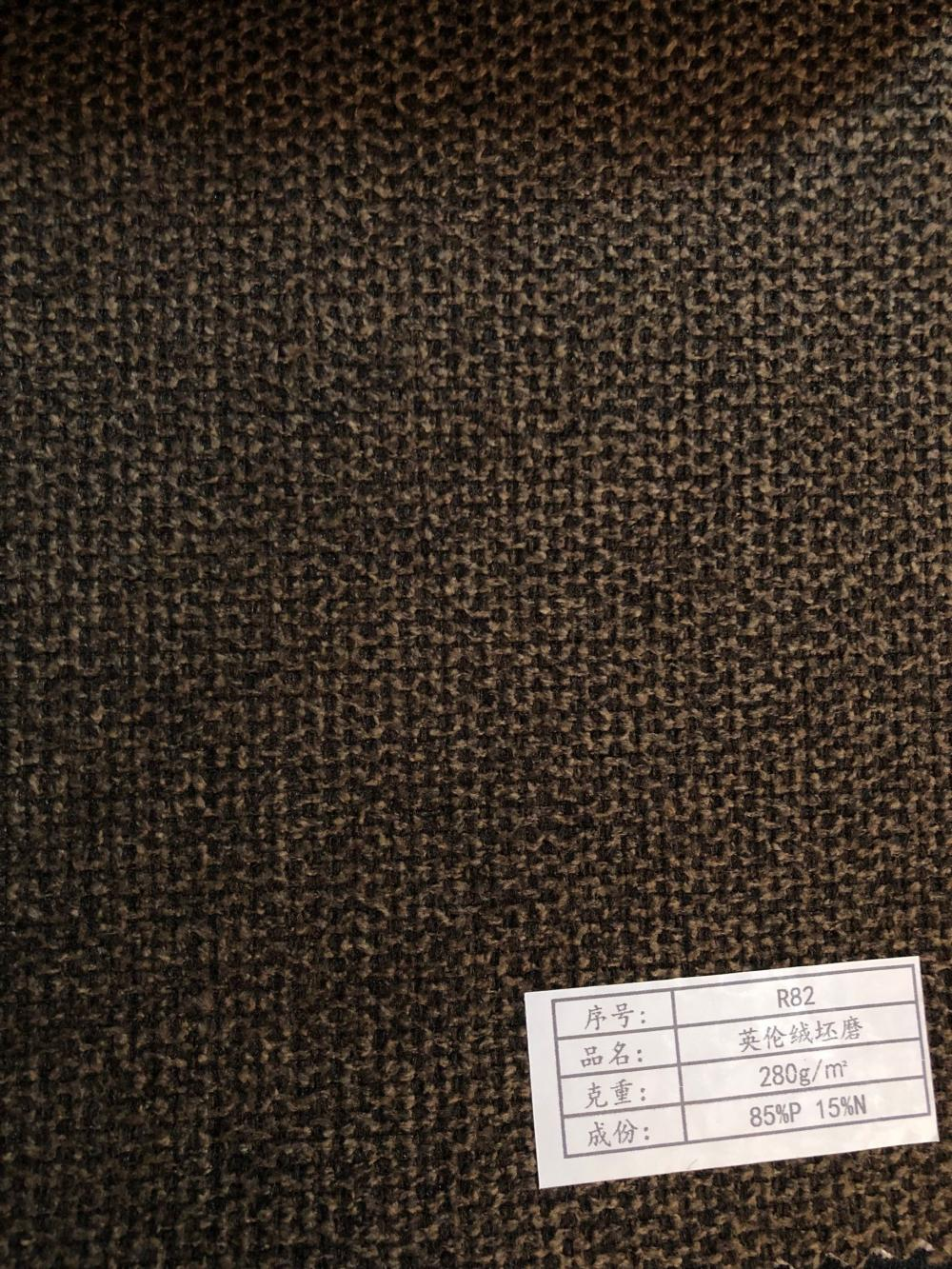 100% Polyester OEM Various Designs Linen Sofa Fabric