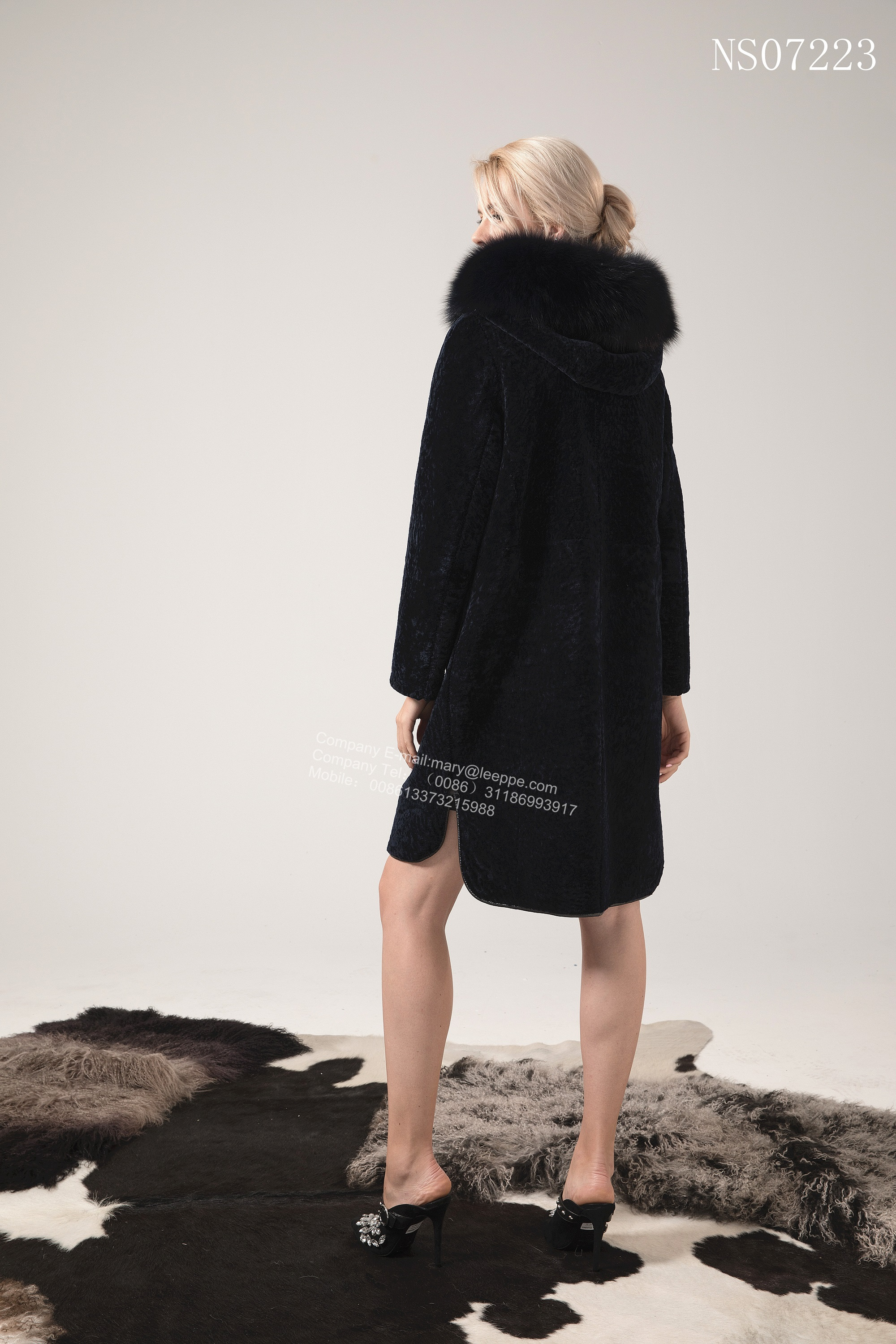 Lady Long Reversible Australian Merino Shearling