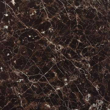 Dark emperador polished galzed porcelain tile