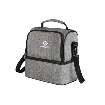 Durable Outdoor Lunch Bag With Two Sections