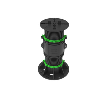 Outdoor water fountain pedestal adjustable pp screw jack