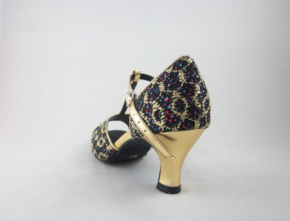 2.2 Inch Latin Dance Shoes