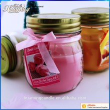Good Quality for Clear Glass Jar Scented Candles Good Quality Scented Jar Glass Candle export to Portugal Suppliers