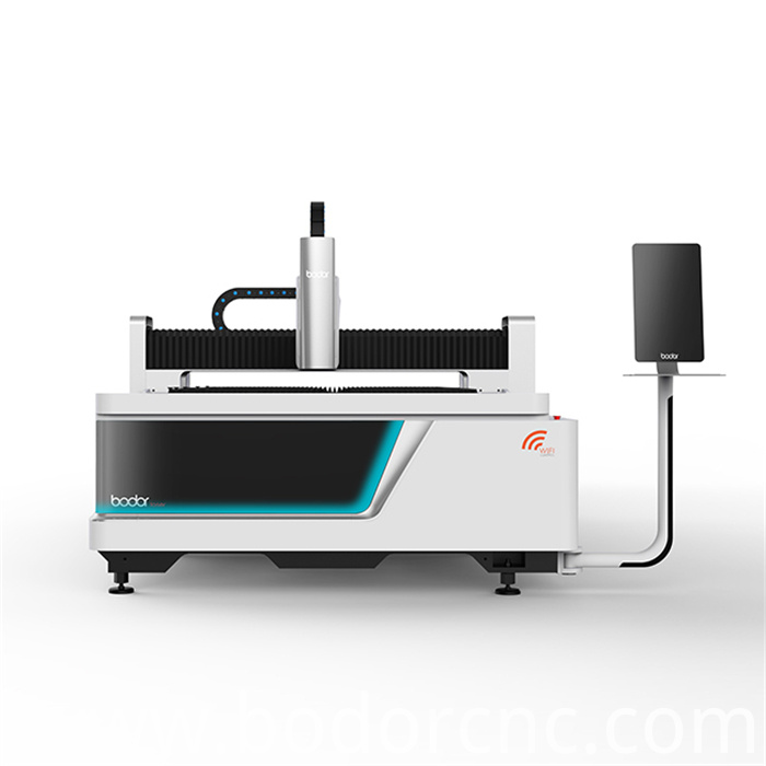 1kw laser cutting machine for carbon with cast iron bed