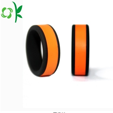 High-end Newest Silicone Engagement Rings for Souvenir