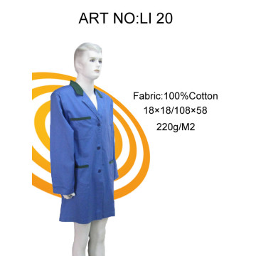 100% cotton work wear