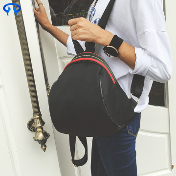 Black casual Oxford backpack