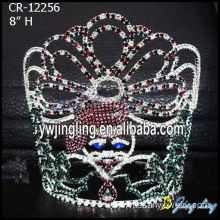 Hot Sale for Candy Pageant Crowns tiara father christmas pageant crowns export to Niue Factory