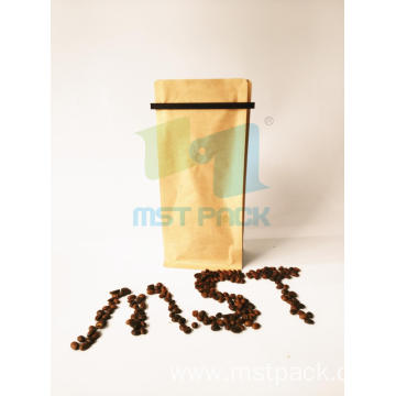 Coffee Gusset Bags with Tin Tie