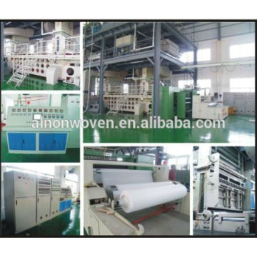 AL-1600 S 1600MM PP NONWOVEN FABRIC MACHINE