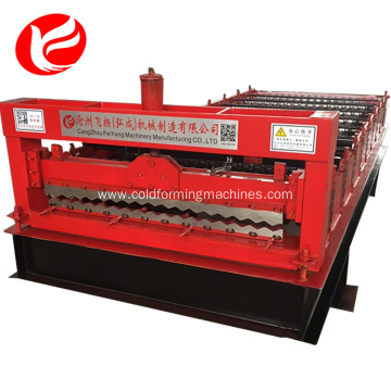 Portable metal roof sheet roll forming making machines