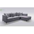 Tela Cushion Corner Sofa Sa Metal Frame