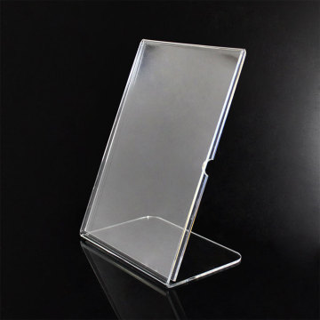 High Quality Clear Acrylic Sign Stand