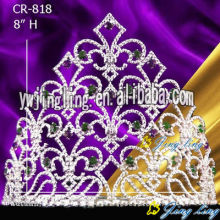 Big Rhinestone large pageant crowns
