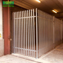 Reliable for High Quality Palisade steel fence D W Style Stainless Steel Palisade Fencing supply to Haiti Manufacturer