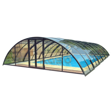 Leading for China Swimming Pool Enclosures,Retractable Pool Enclosure,Retractable Swimming Pool Enclosures Manufacturer Sale Canada Design Cover Hot Tub Dome supply to Singapore Manufacturers