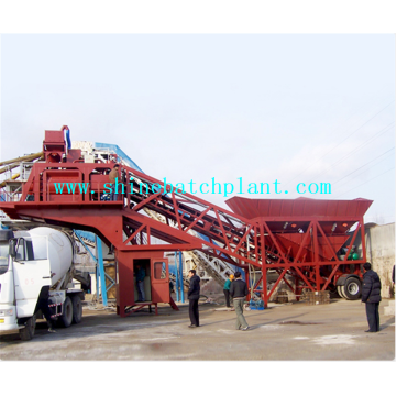 90 Mobile Concrete Mixer Plant