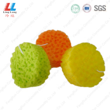 Circle colorful bathroom sponge washing