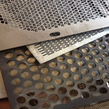 5mm Thick Micro Stainless Steel Perforated Sheet