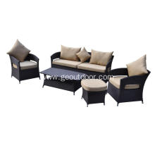 5 pcs garden aluminum sofa set
