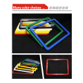 a3 black colorful plastic poster price sign frame