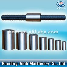 Best quality and factory for Silver Color Rebar Couplers Steel Bar Coupler M12-M50 export to United States Factories