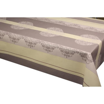 Christchurch Elegant Tablecloth with Non woven backing