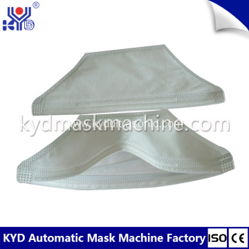 Fully automatic duckbill mask machine with earloop