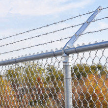 High security anti-climb chain link fence