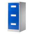 Blue 3 Drawer File Cabinet