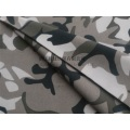 Cheap Black  Polyester Camouflage Fabric