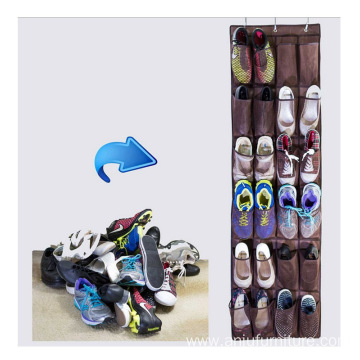 factory over the door 24 pockets hanging shoe organizer
