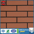 Faux interior brick wall chalk paint