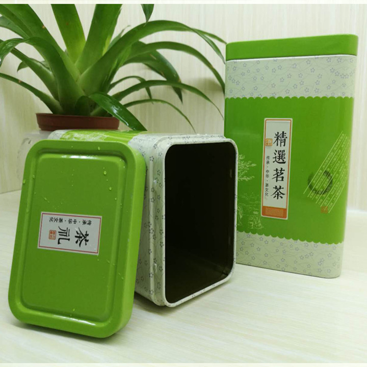food grade packaging tea tin box