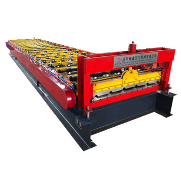 Trapezoidal wall panel sheet  roll forming machine