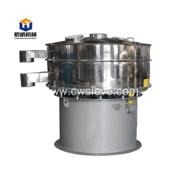 circular chestnut powder almond powder vibrating sifter