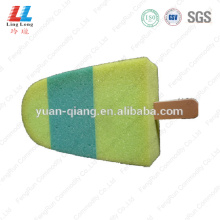 Ice cream united shape bath sponge
