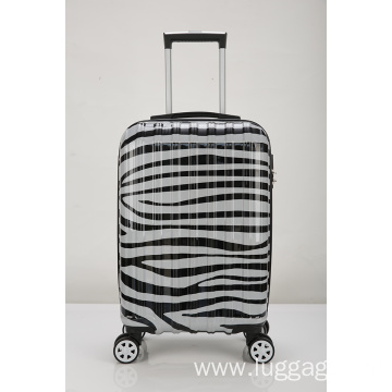 ABS PC material colorful luggage