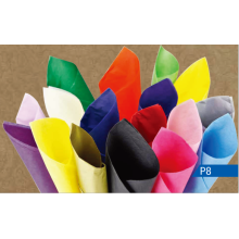 Multi-color wrapping tissue paper