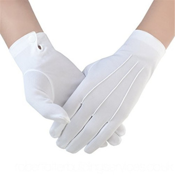 White Cotton Uniform Glove Parade Glove