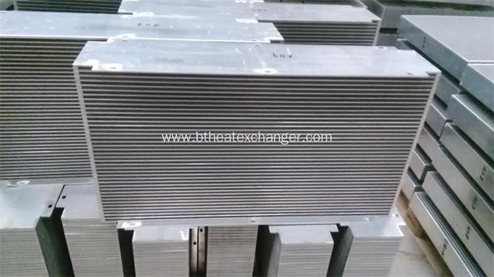 Aluminum Plate-Bar Heat Exchanger for Agricultural Machine